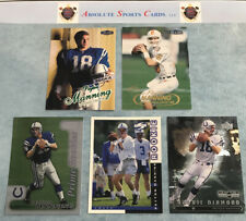 1998 PEYTON MANNING RC Rookie Lot x5   Ultra   Fleer   Upper Deck   Colts  