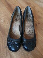 Hush Puppies Women Black Shoes Size Uk 7