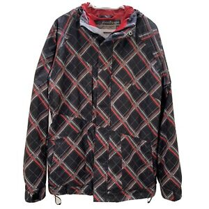 Quiksilver Utility Collection 5000mm Ski Snowboard Jacket Red, Black Size M