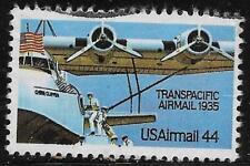 2v0743 Scott C115 US Air Mail Stamp 1985 44c Transpacific Used