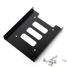 """PC Festplatten Einbaurahmen Wechselrahmen 2,5"""" SSD HDD auf 3,5""""Mounting Adapter"""