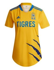 Adidas Tigres WOMENS Home Jersey 2021/2022 Jersey MUJER Tigres 100% Authentic