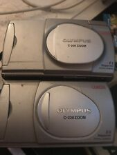 2 Olympus Digital Cameras - C-200 Zoom & C-220 Zoom - Spares Repairs