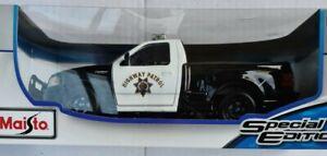 Maisto 1:18 Ford SVT F-150 Lightning Police Car  Diecast Special Edition