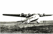 Postcard 1008 - Aircraft/Aviation Real Photo Savoia Marchetti Ala Littoria 40's