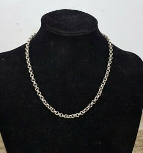 Heavy 5 mm Sterling Silver Chain Necklace