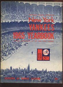 1965 New York Yankees Yearbook EX