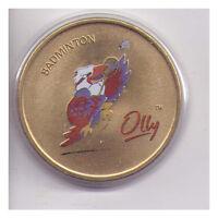Sydney 2000 Olympic Medallion - Badminton