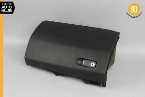 10-16 Mercedes W212 E400 E350 Dashboard Glove Box Compartment Black OEM
