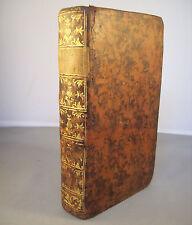 DE LA NATURE (Jean-Baptiste ROBINET) / RELIURE CUIR 1762 VAN HARREVELT