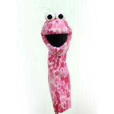 Playful Puppet Pal™ hand puppet - PINK Flower Print | professional puppet