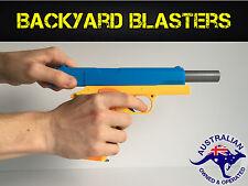 Toy Gun - Realistic 1:1 Scale Colt 1911 Rubber Bullet Pistol | Backyard Blasters