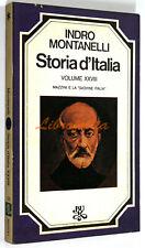 Indro Montanelli STORIA D'ITALIA VOLUME XXVIII 28 Rizzoli 1976