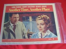 """ANOTHER TIME ANOTHER PLACE "" Orig. Lobby Card #1 1958 Lana Turner, Sean Connery"