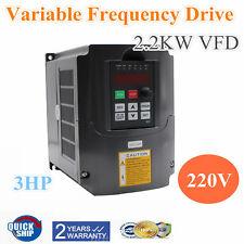 2,2KW VFD 3HP 10A Frequenzumrichter Variable Frequency Drive Inverter Motoren