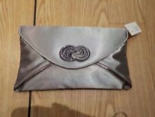 Lunar Ripley Grey Twist Front Envelope Handbag ZLR222