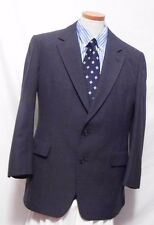 Men's Hart Schaffner & Marx Gray 2 Button Wool Blend Suit Size Vintage 44R