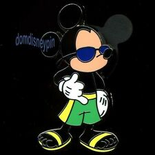Disney Pin Cool Characters *Mini* Collection - Mickey in Sunglasses!