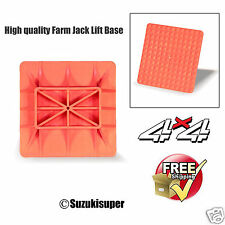 4wd Hi Lift Farm Jack Off Road Base Plate 4x4 Recovery Kit 1cm Thick Heavy Duty