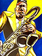 LUCKY THOMPSON PRINT poster modern jazz tenor saxophone paris one more chance cd