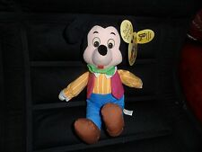 """New with tag,9""""sitting,cotton body,mickey mouse soft toy,Disney character age 3+"""