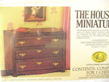Doll Furniture House Of Miniatures Unassembled Chippendale Chest
