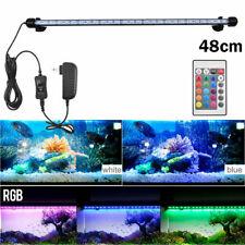 48Cm Led Waterproof Aquarium Fish Tank Lamp Submersible Bar Lights Rgb Light Usa