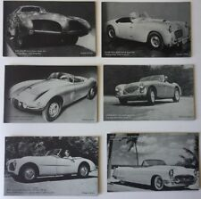 1950's Sport Cars And Exotic Cars Arcade Cards (33)