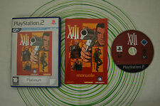 XIII platinum ps2 pal