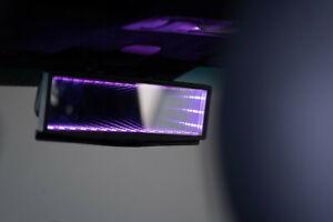RGB LED Infinity Galaxy Rear View Mirror Broadway Automotive Car 280mm JDM EURO
