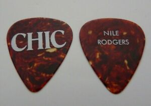 NILE RODGERS CHIC TORTOISE TOUR ISSUED GUITAR PICK