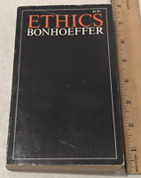 Ethics by Dietrich Bonhoeffer 1965 Paperback PB Theology Christian Religion Book