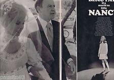 COUPURE DE PRESSE CLIPPING 1970 FRANCK SINATRA marie NANCY (4 pages)