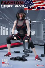 """1/6 Fitness Gym Wear Clothing Set For 12"""" Hot Toys PHICEN Female Figure ❶USA❶"""