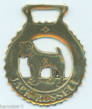 Jack Russell Horse brass (N589) (I always combine shipping)