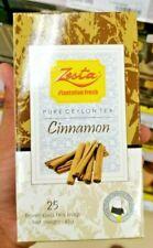 Zesta Cinnamon Tea Sri Lankan tea bags 25 enveloped tea bags-Ceylon
