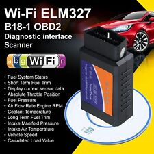 ELM327 WiFi OBD2 Bluetooth Car Auto Scan Torque OBD-II Tool For Android / iOS UK
