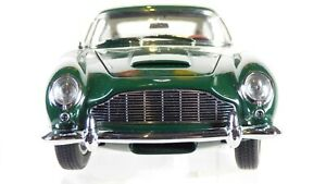 Rare AutoArt 1:18 Aston Martin DB5 British Racing Green Toy Model Car