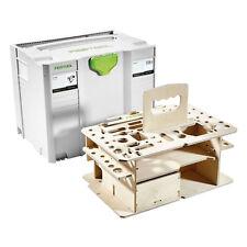 Festool SYSTAINER T-LOC SYS-HWZ - 497658 SYS 4 mit Holzeinsatz