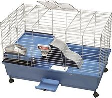 Kaytee My First Home 30 by 18-Inch EZ Clean Habitat Cage with Casters, Large