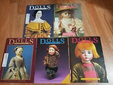 DOLLS The Collectors Magazine - Lot of 5 Magazines 1986
