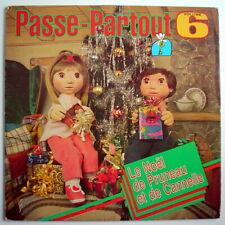 UN DISQUE 33 TOURS DE NOEL, PASSE-PARTOUT, No.6, ÉMISSION DE TV DES ANNÉES 70