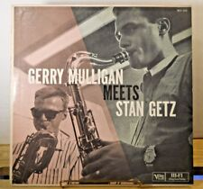 GERRY MULLIGAN MEETS STAN GETZ 1957 Jazz LP Verve Records MG V-8249 Mono