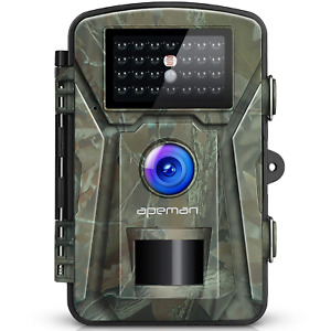 APEMAN 12MP 1080P Trail Wildlife Camera Trap with Infrared Night Vision -