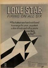 Lone Star Firing On All Six UK Tour advert 1977 MM-EFGH