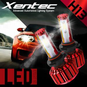 90W 11000LM LED headlight Kit COB H13 9008 Hi/Lo beams 6000K XENON White bulbs