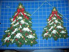 "New listing Christmas Fabric Iron-on Appliques - 9"" or 12"" Christmas Tree"