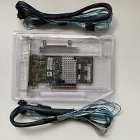 LSI 9267-8i 6Gb/s PCI-Express 2.0 512MB 8Port SATA/SAS Raid Card+2PCS 8087 SATA
