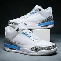 Men's Basketball Shoes Retro Sport Shoes Air  Cushion Athletic Sneakers High 46