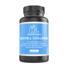 Health Logics Joint and Skin Care Supplements w/ BioCell Collagen (120 Capsules)